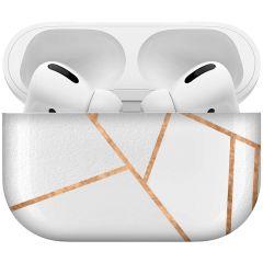 iMoshion Custodia Rigida Design AirPods Pro - White Graphic
