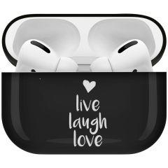 iMoshion Custodia Rigida Design AirPods Pro - Live Laugh Love