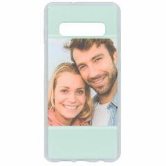 Cover Flessibile Personalizzate Samsung Galaxy S10 Plus - Trasparente