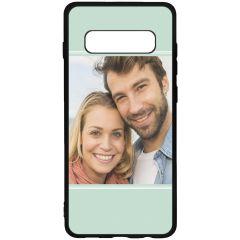 Cover Flessibile Personalizzate Samsung Galaxy S10 Plus - Nero