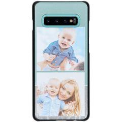 Cover Rigida Personalizzate Samsung Galaxy S10 Plus - Nero