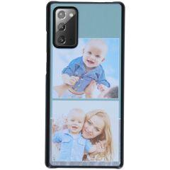 Cover Rigida Personalizzate Samsung Galaxy Note 20 - Nero