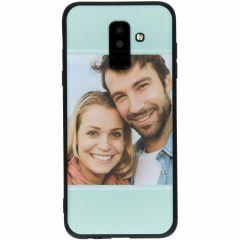 Cover Flessibile Personalizzate Samsung Galaxy A6 Plus (2018) - Nero