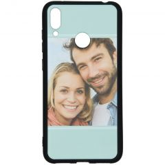 Cover Flessibile Personalizzate Huawei Y7 (2019) - Nero