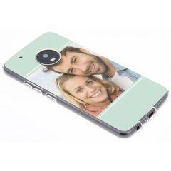 Cover Flessibile Personalizzate Motorola Moto G5 Plus - Trasparente