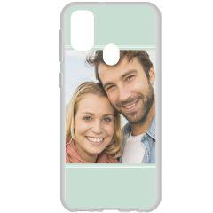 Cover Flessibile Personalizzate Samsung Galaxy M30s / M21 - Trasparente