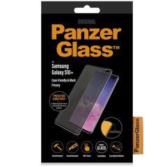 PanzerGlass Pellicola Protettiva Privacy Case Friendly Samsung Galaxy S10 Plus - Nero