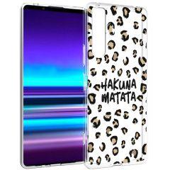 iMoshion Cover Design Sony Xperia 1 II - Hakuna Matata