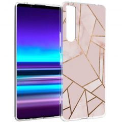 iMoshion Cover Design Sony Xperia 1 II - Pink Graphic