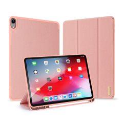 Dux Ducis Domo Custodia a Libro iPad Air (2020) - Rosa oro