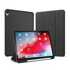 Dux Ducis Domo Custodia a Libro iPad Air (2020) - Nero
