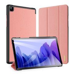 Dux Ducis Domo Custodia a Libro Samsung Galaxy Tab A7 - Rosa oro