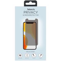 Selencia Selencia Pellicola Protettiva privacy in Vetro Temperato iPhone 12 Mini