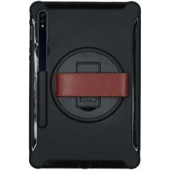 Cover Defender con Cinturino Samsung Galaxy Tab S7 - Nero