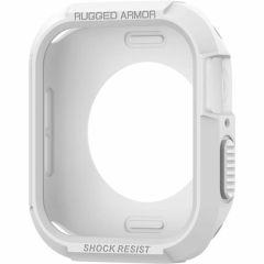Spigen Rugged Armor Custodia Apple Watch 44 mm - Bianco