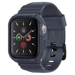 Spigen Rugged Armor Pro Custodia Apple Watch 44 mm - Grigio scuro