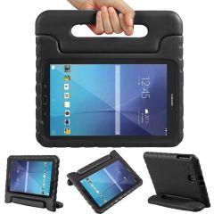 Cover Antishoc Speciale Bambini con Manico Samsung Galaxy Tab E 9.6 - Nero