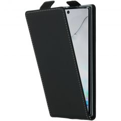 Accezz Flipcase Samsung Galaxy Note 10 - Nero