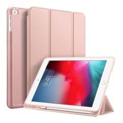 Accezz Smart Custodia a Libro in Silicone iPad (2018) / (2017) / Air (2) - Rosa oro
