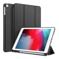 Accezz Smart Custodia a Libro in Silicone iPad (2018) / (2017) / Air (2) - Nero