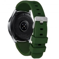 iMoshion Multipack Cinturino in Silicone 46mm / Gear S3 Frontier / Classic / Watch 3 45mm - Verde