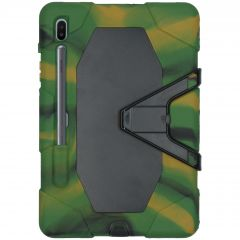 Army Extreme Cover Protezione Samsung Galaxy Tab S6 - Verde