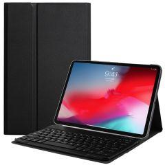 Custodia a libro con tastiera Bluetooth per iPad Pro 11 (2020) - Nera
