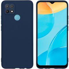 iMoshion Cover Color Oppo A15 - Blu scuro