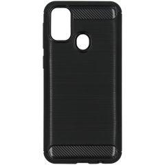 Cover Spazzolata Samsung Galaxy M30s / M21 - Nero