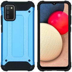 iMoshion Cover Robusta Xtreme Samsung Galaxy A02s - Azzurro