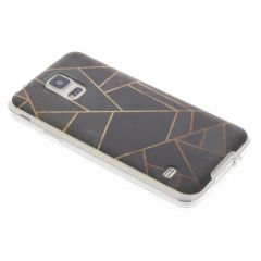 Cover Design Samsung Galaxy S5 (Plus) / Neo - Black Graphic