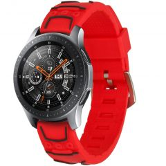 iMoshion Cinturino in Silicone Samsung Galaxy Watch 46 mm / Watch 3 45mm - Rosso