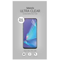 Selencia Pellicola Protettiva Ultra Trasparente Duo Pack Oppo A52 / A72 / A73 (5G) / A92