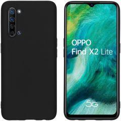 iMoshion Cover Color Oppo Find X2 Lite - Nero