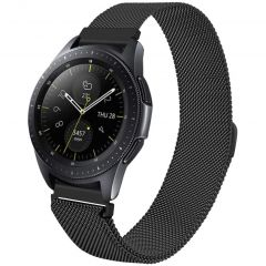 iMoshion Cinturino Milanese Galaxy Watch 46mm / Gear S3 Frontier / Classic / Watch 3 45mm - Nero