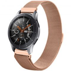 iMoshion Cinturino Milanese Galaxy Watch 46mm / Gear S3 Frontier / Classic / Watch 3 45mm - Rosa oro