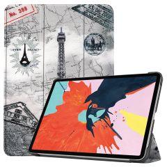 iMoshion Custodia a Libro Trifold iPad Air (2020) - Paris