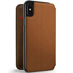 Twelve South SurfacePad Custodia a Libro iPhone Xr - Marrone