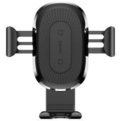 Baseus Supporto per caricabatterie wireless per auto Gravity - Nero