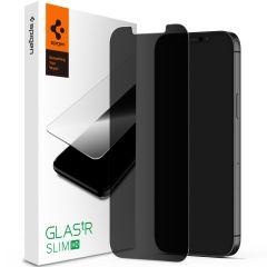 Spigen GLAStR Privacy Pellicola Protettiva iPhone 12 Mini