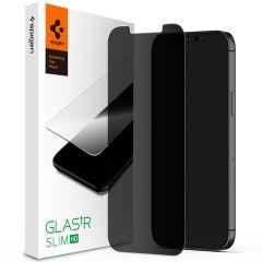 Spigen GLAStR Privacy Pellicola Protettiva iPhone 12 Pro Max