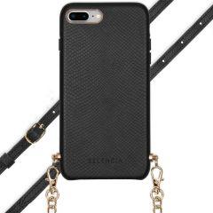 Selencia Aina Custocia Serpente con Cordino iPhone 8 Plus / 7 Plus - Nero