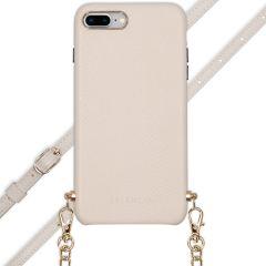 Selencia Aina Custocia Serpente con Cordino iPhone 8 Plus / 7 Plus - Bianco