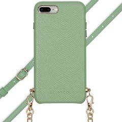 Selencia Aina Custocia Serpente con Cordino iPhone 8 Plus / 7 Plus - Verde