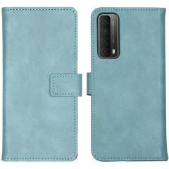 iMoshion Custodia Portafoglio de Luxe Huawei P Smart (2021) - Azzurro