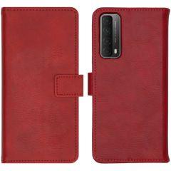iMoshion Custodia Portafoglio de Luxe Huawei P Smart (2021) - Rosso