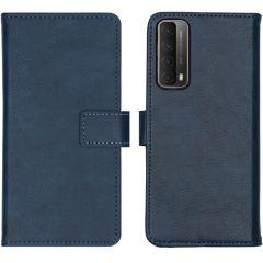 iMoshion Custodia Portafoglio de Luxe Huawei P Smart (2021) - Blu scuro