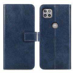 iMoshion Custodia Portafoglio de Luxe Motorola Moto G 5G - Blu scuro