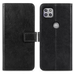 iMoshion Custodia Portafoglio de Luxe Motorola Moto G 5G - Nero