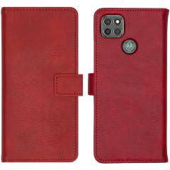 iMoshion Custodia Portafoglio de Luxe Motorola Moto G9 Power - Rosso